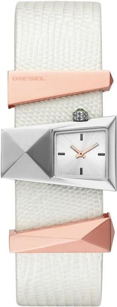 Uhren für Frauen - DIESEL Uhr 'Caterina' rosegold silber perlweiß  - Onlineshop ABOUT YOU