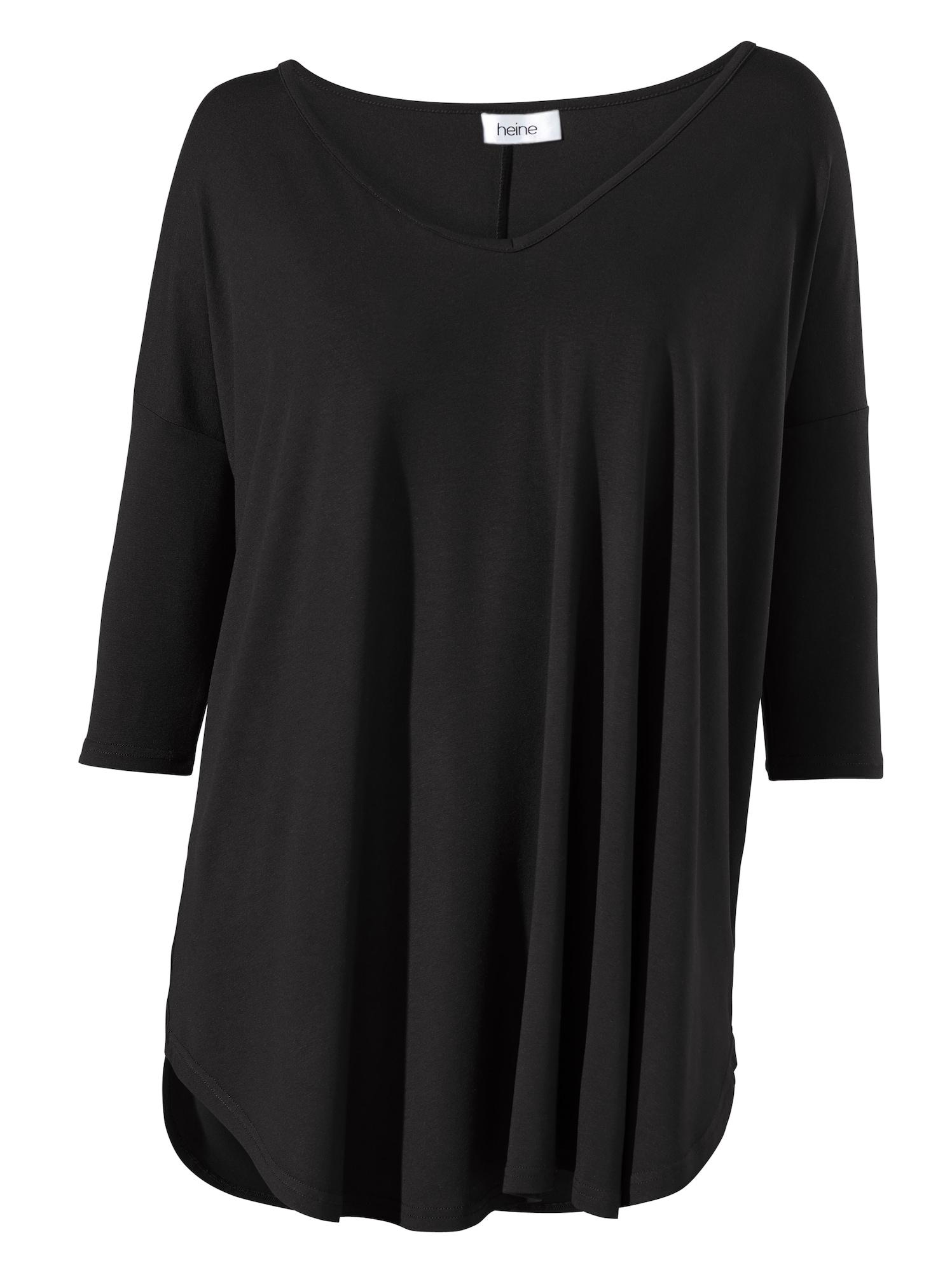 heine Oversized tričko  černá