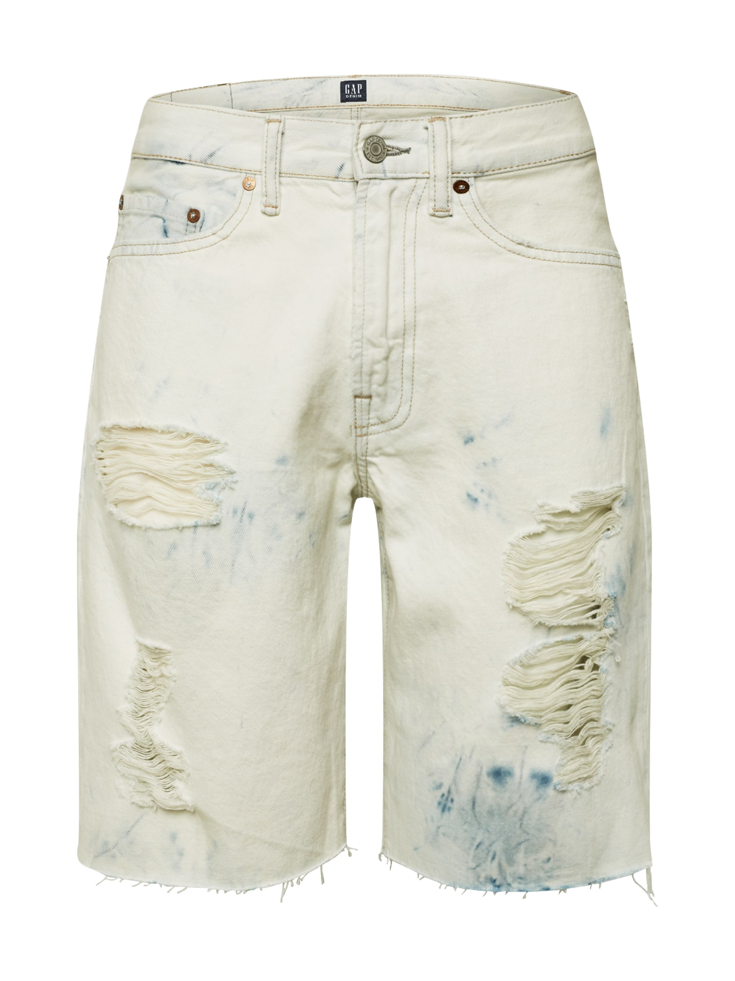 GAP Džinsai '5PKT SHORT - BLEACH' balto džinso spalva