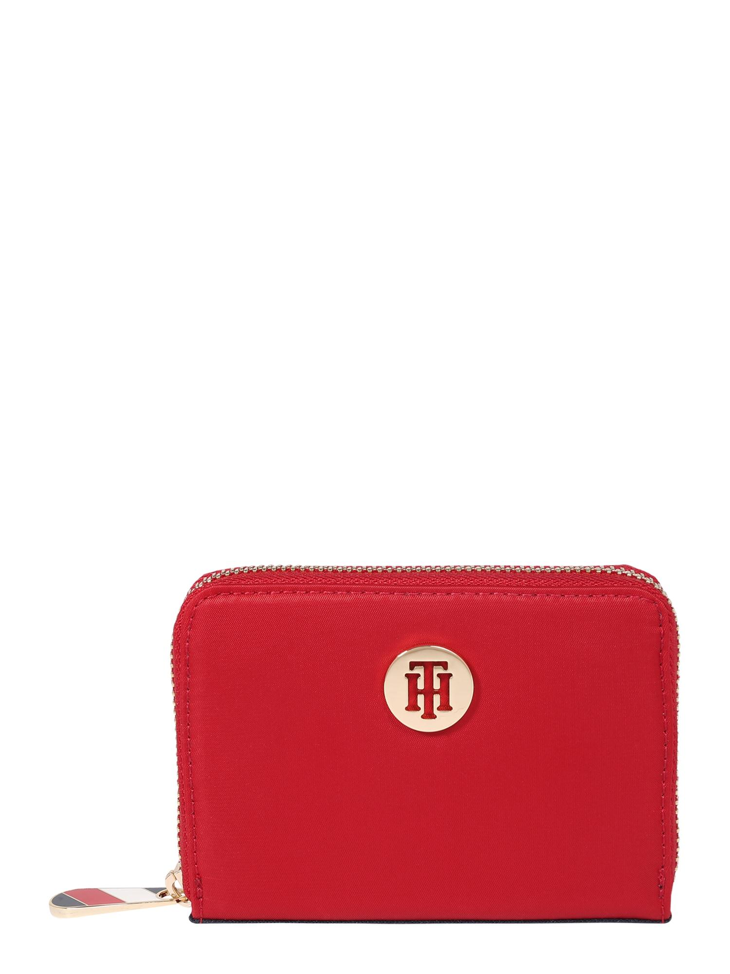 TOMMY HILFIGER Peněženka 'Poppy'  červená