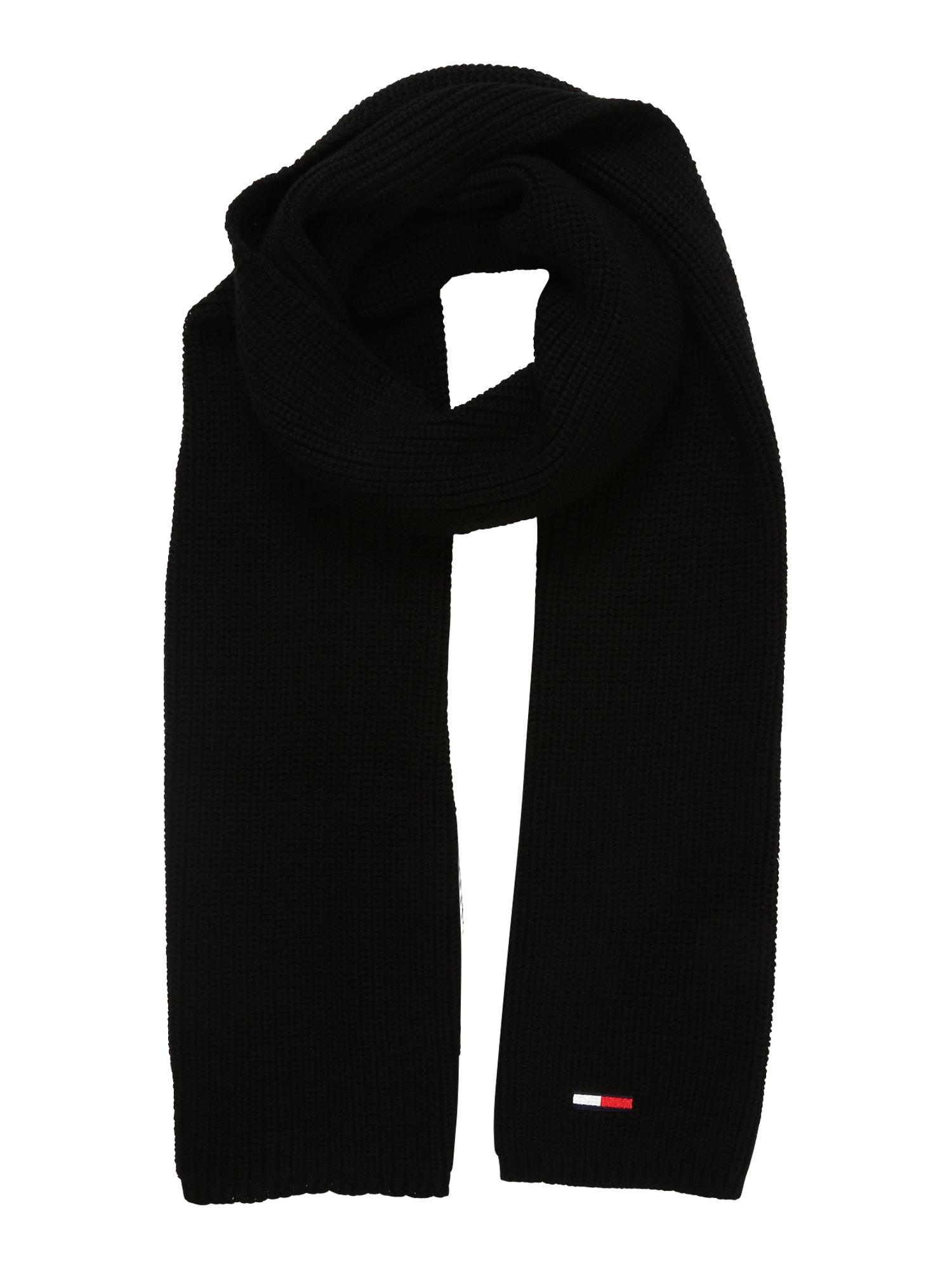 Tommy Jeans Šalikas tamsiai mėlyna / raudona / juoda / balta