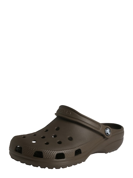 Clogs für Frauen - Crocs Clogs 'Classic W' schoko  - Onlineshop ABOUT YOU