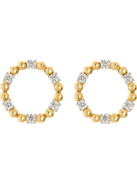 Ohrringe für Frauen - CHRIST Ohrstecker gold  - Onlineshop ABOUT YOU