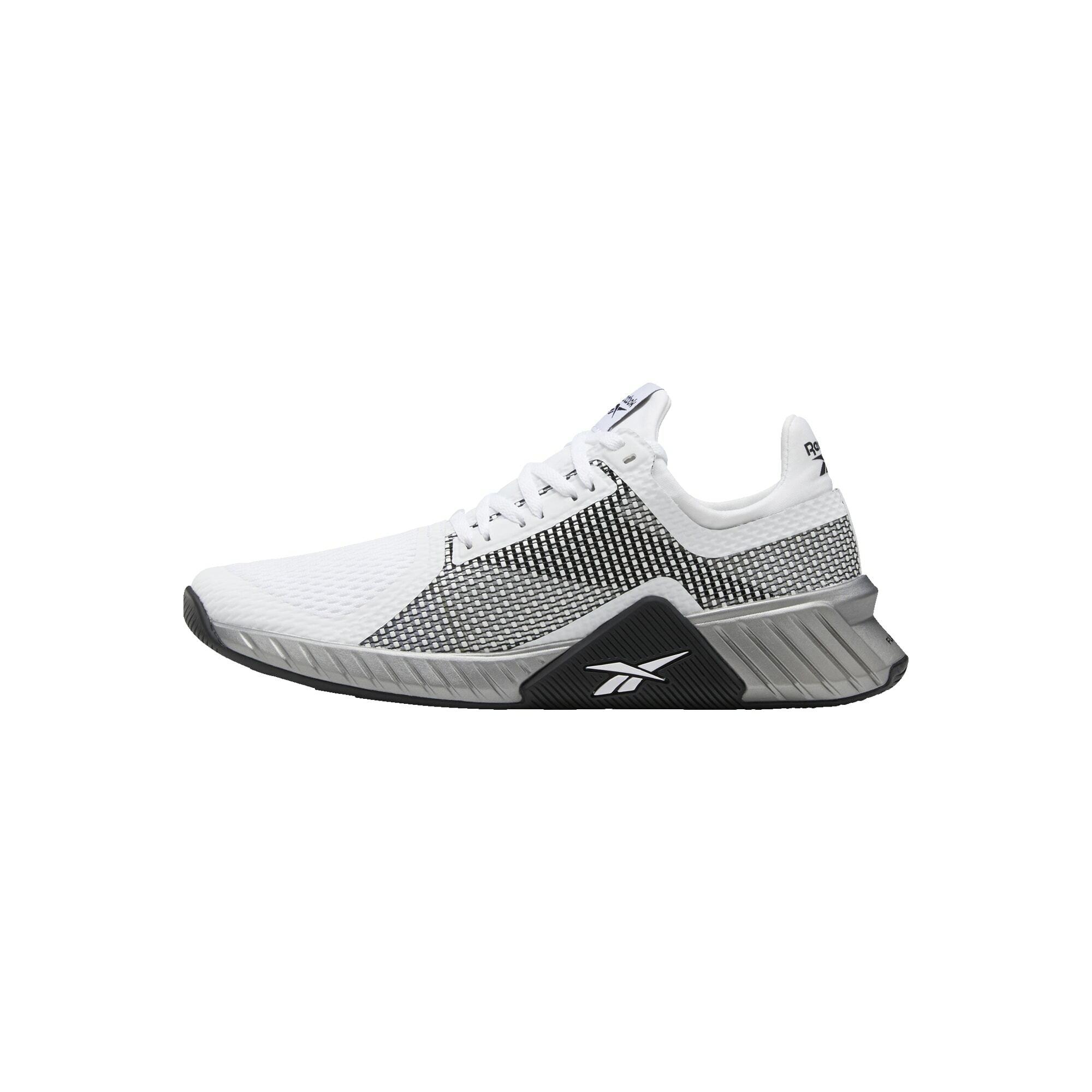 REEBOK Sportiniai batai balta / juoda