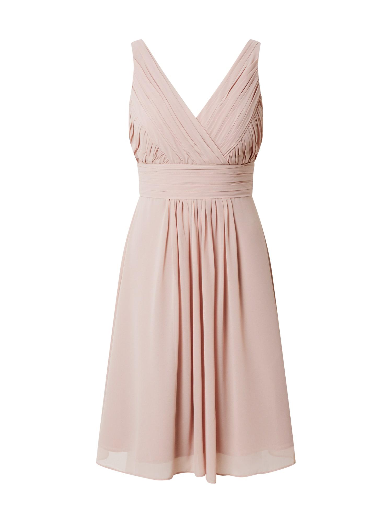 STAR NIGHT Kokteilinė suknelė pastelinė rožinė