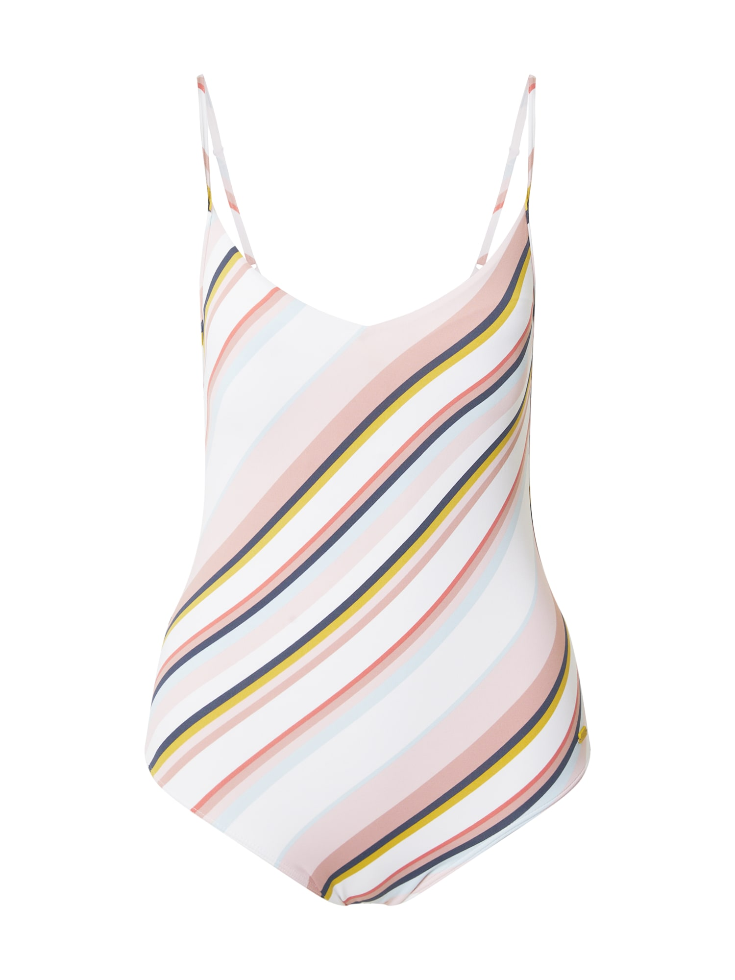 ROXY Maudymosi kostiumėlis balta / tamsiai mėlyna / geltona / šviesiai rožinė / mišrios spalvos
