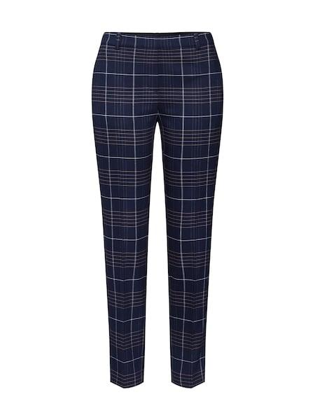 Hosen für Frauen - Marc O'Polo Hose 'Torup' dunkelblau braun weiß  - Onlineshop ABOUT YOU