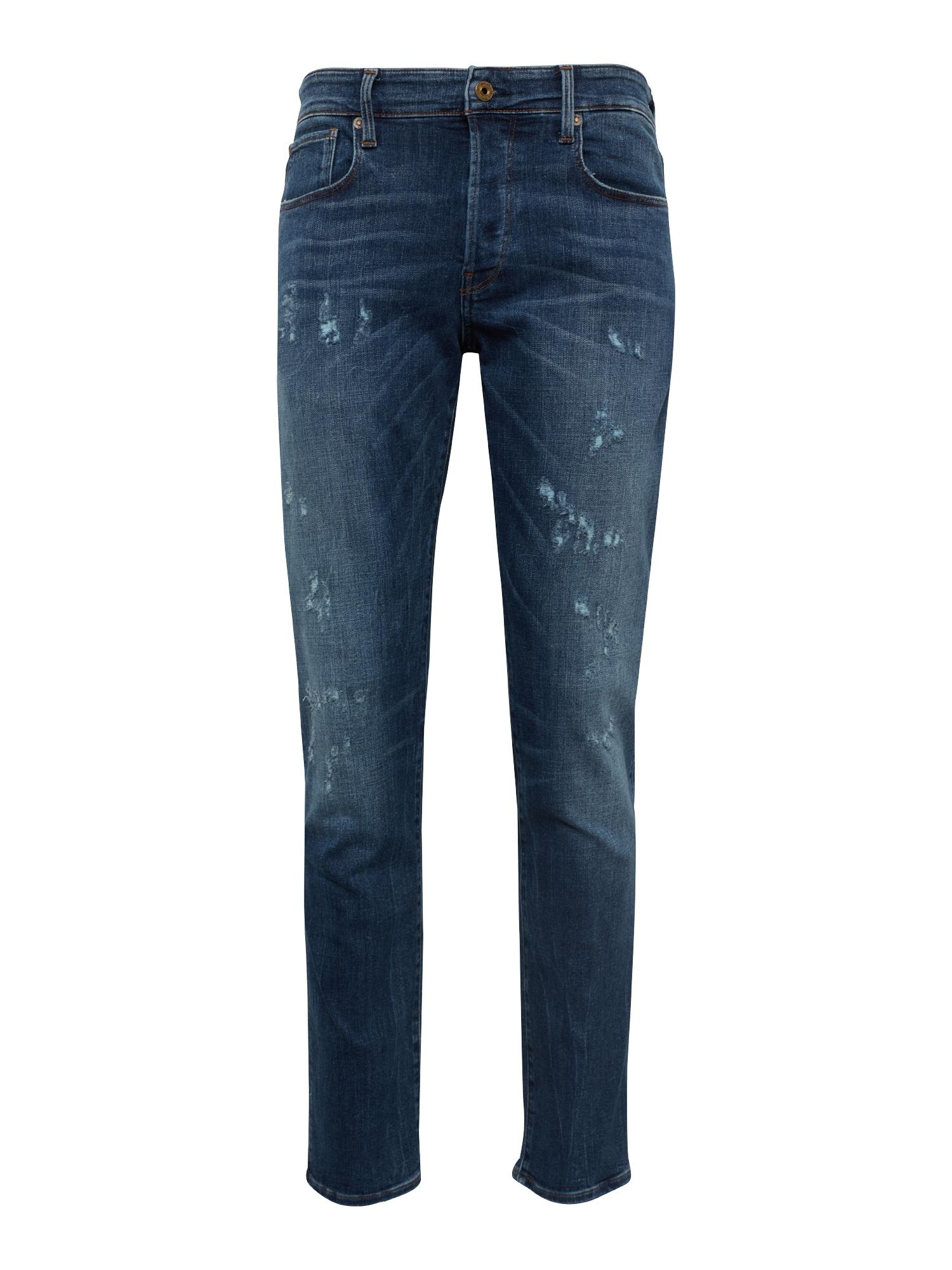 Džíny 3301 Straight modrá džínovina G-STAR RAW