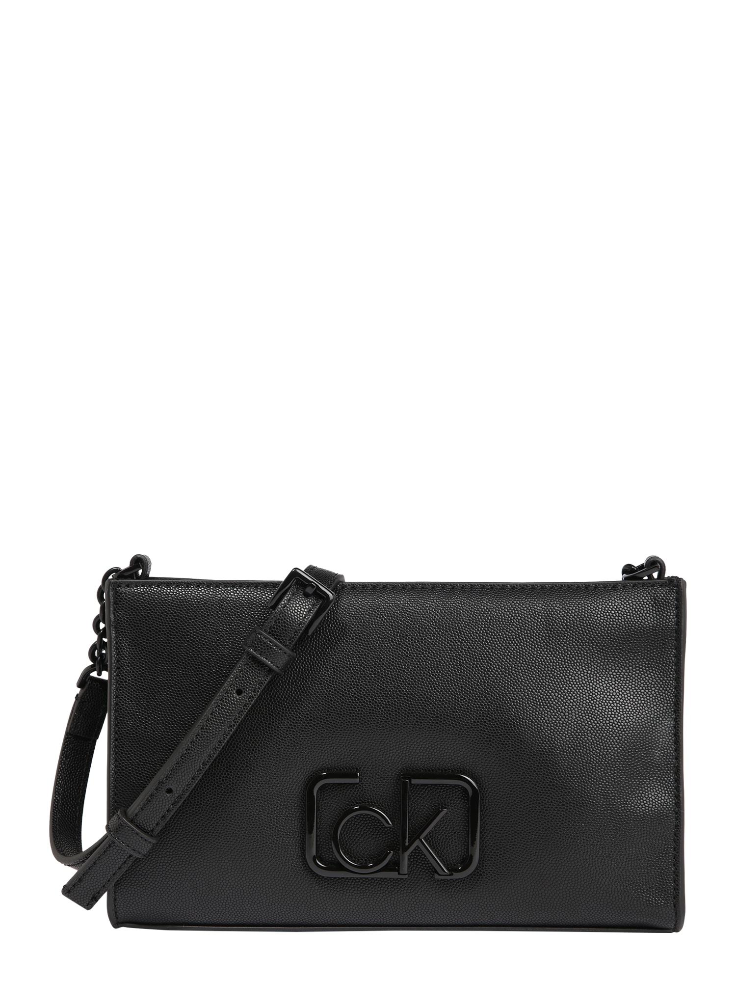 Calvin Klein Rankinė 'Signature' juoda