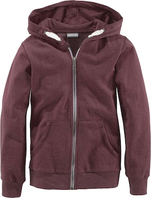 Kidsworld Sweatjacke (Kids) in Melange-Optik, für Jungen
