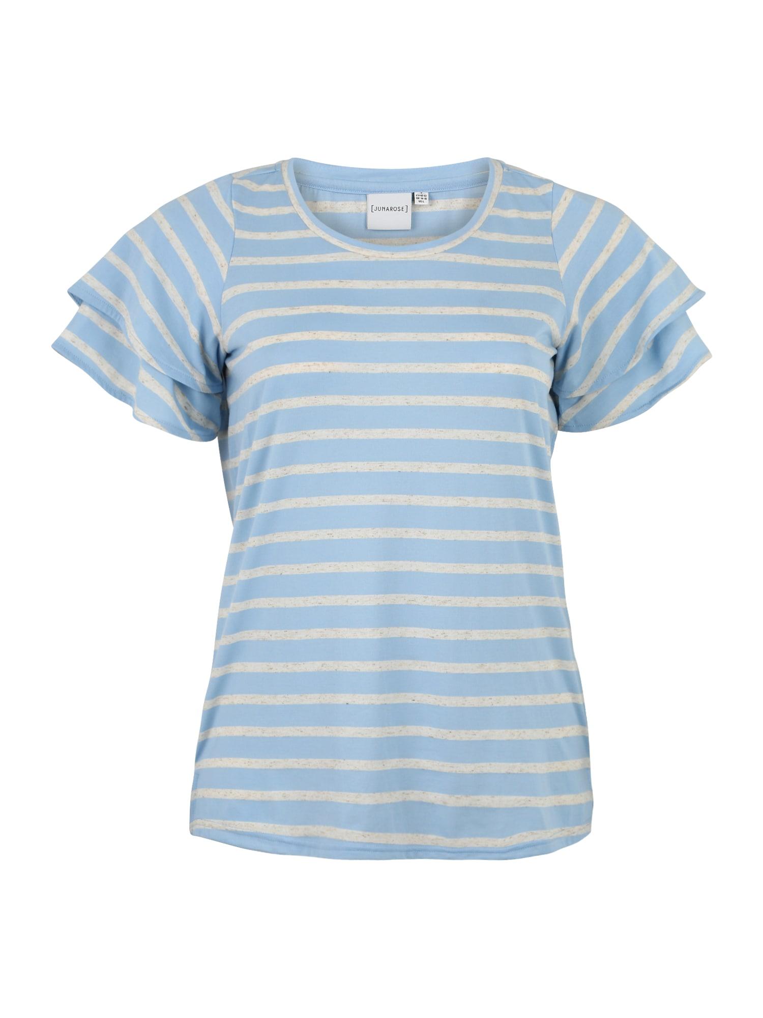 Junarose Marškinėliai 'TILDA' mėlyna / pilka