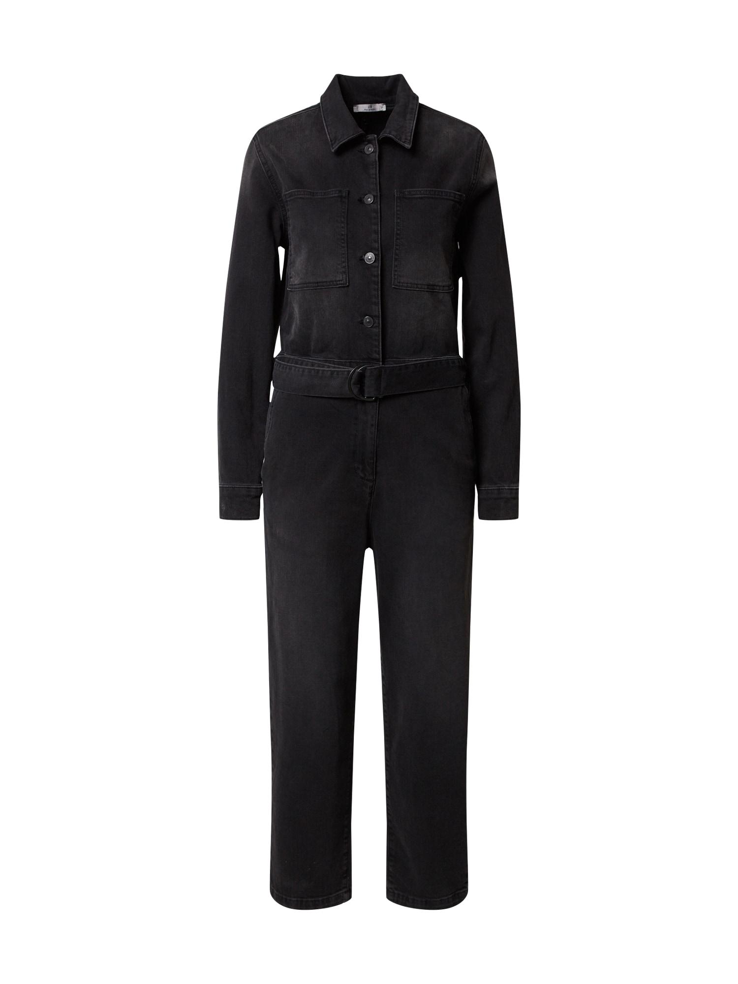 LTB Vienos dalies kostiumas 'Lona' juodo džinso spalva