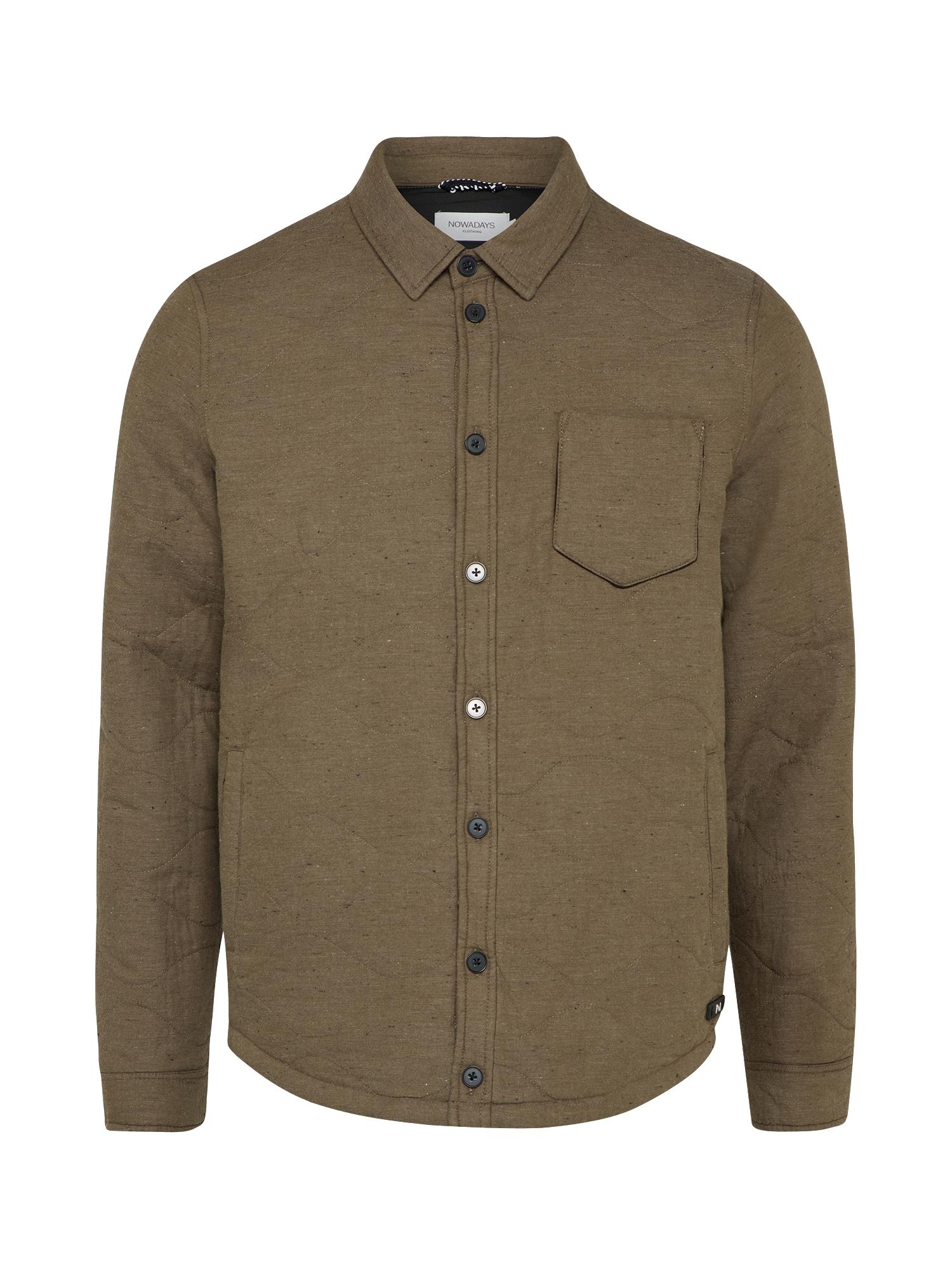 - Herren Übergangsjacke quilted jacket khaki | 04250877566925