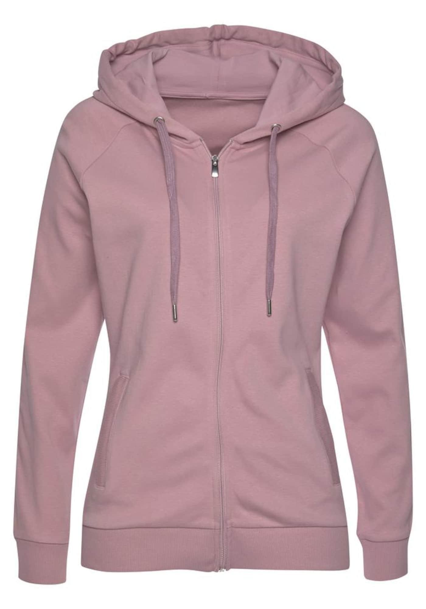 LASCANA ACTIVE Sportinis džemperis ryškiai rožinė spalva