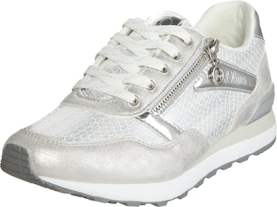 S.Oliver RED LABEL Sneaker im Metallic-Look