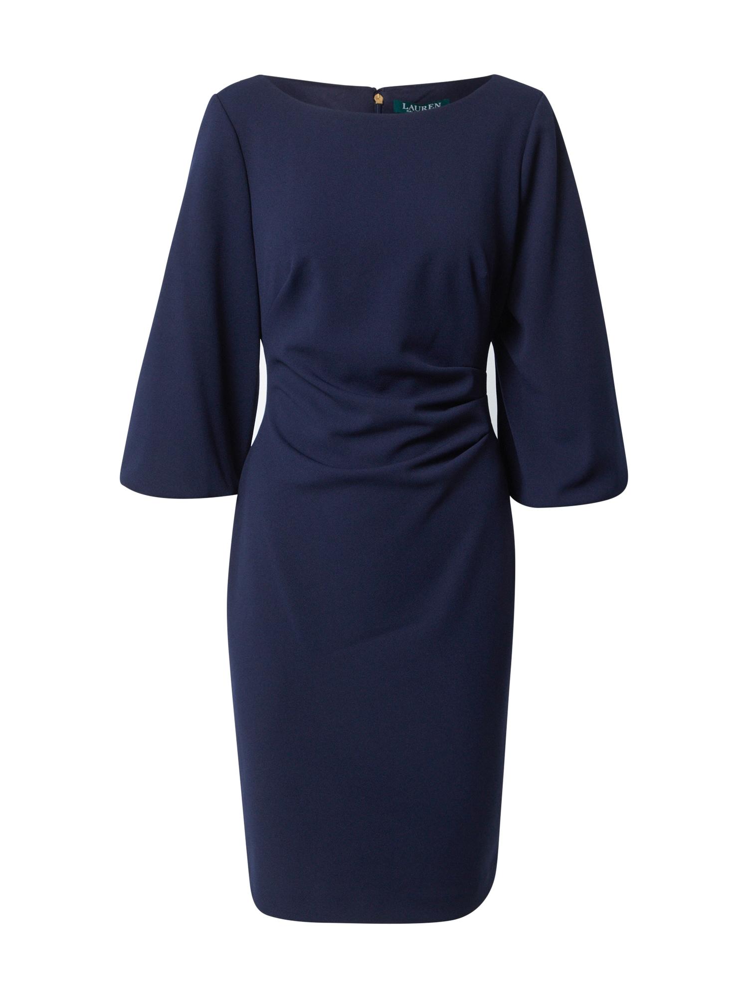 Lauren Ralph Lauren Koktejlové šaty 'LOUISA'  námořnická modř