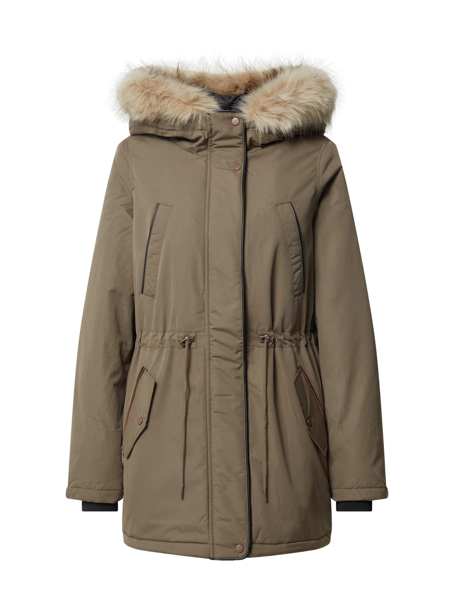 VERO MODA Zimní bunda 'Kylieloa'  olivová
