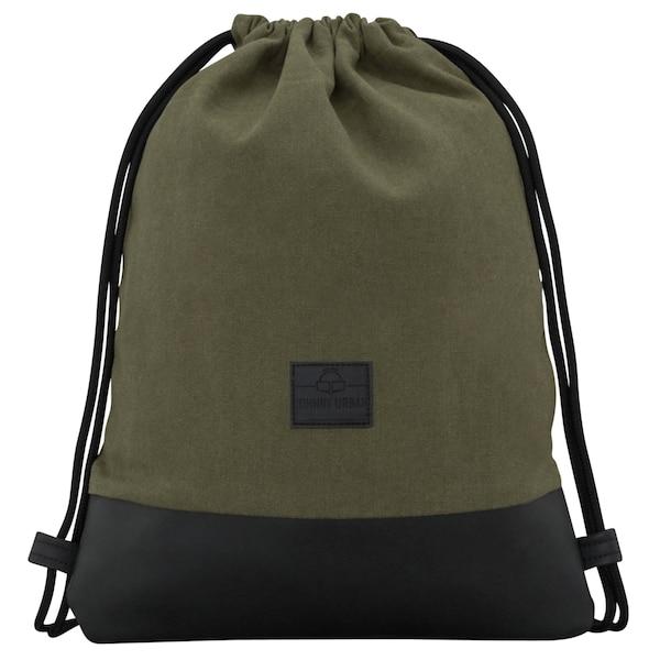 Sporttaschen für Frauen - Turnbeutel 'Luke' › Johnny Urban › grün schwarz  - Onlineshop ABOUT YOU