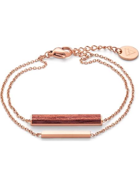 Armbaender für Frauen - Kerbholz Armband 'Rosewood GEOREC8187' rosegold  - Onlineshop ABOUT YOU