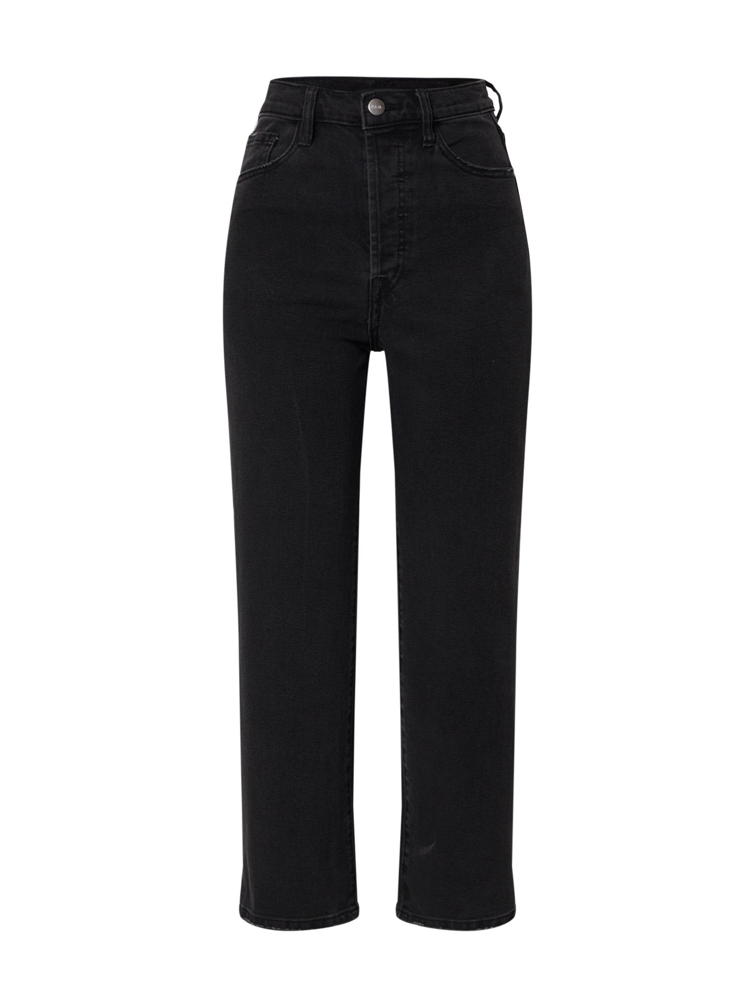 F.A.M. Džinsai 'POLA' juodo džinso spalva