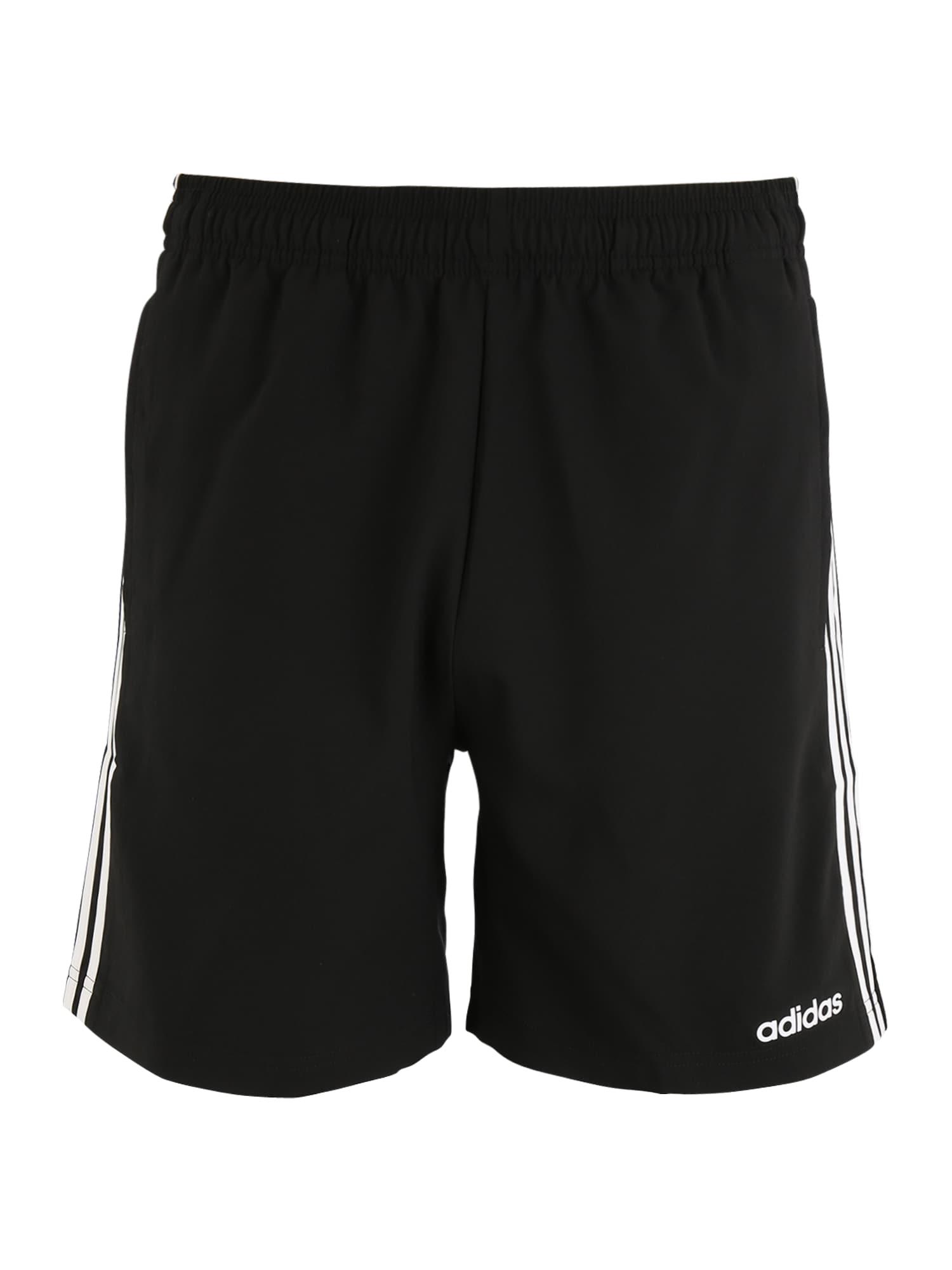 ADIDAS PERFORMANCE Sportinės kelnės 'Chelsea' juoda / balta
