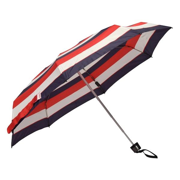 Regenschirme für Frauen - KNIRPS Taschenschirm nude marine rot  - Onlineshop ABOUT YOU