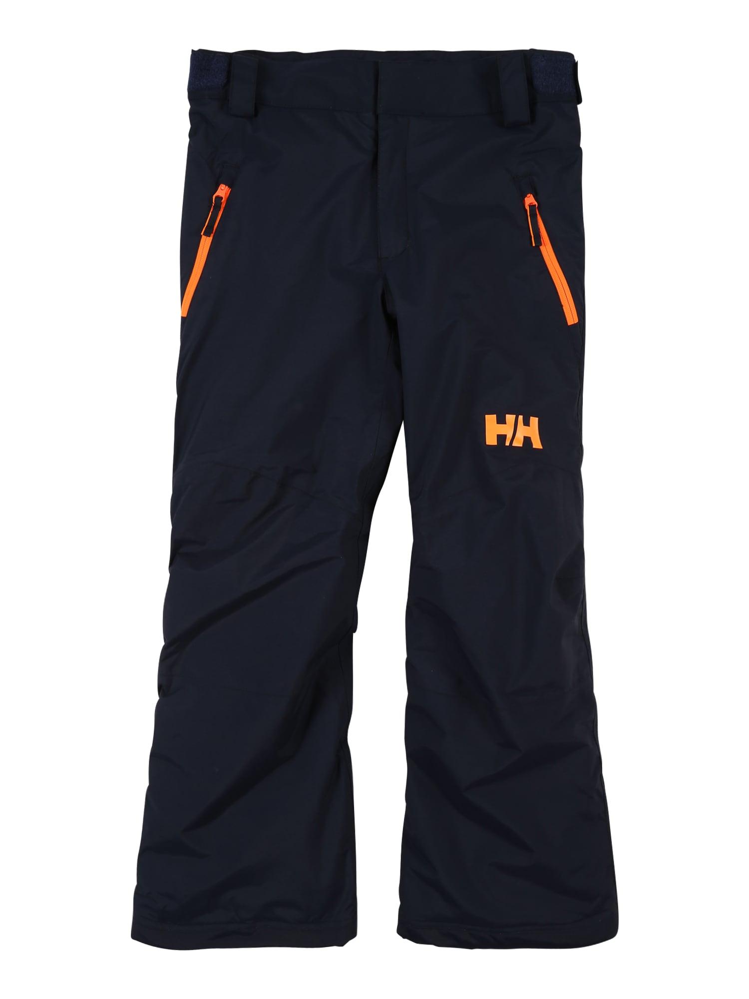 HELLY HANSEN Laisvalaikio kelnės 'LEGENDARY' tamsiai mėlyna / oranžinė