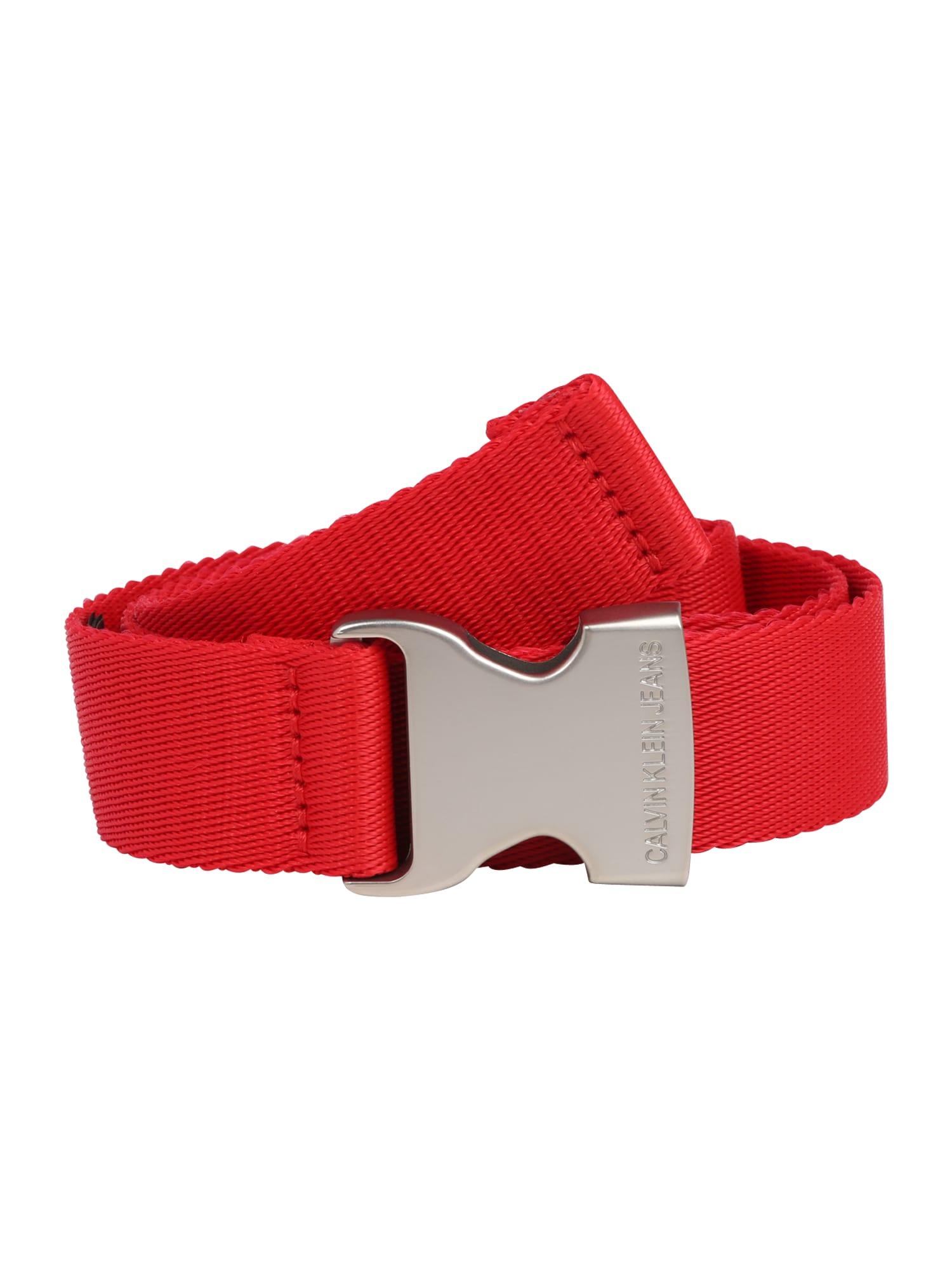 Calvin Klein Jeans Diržas raudona