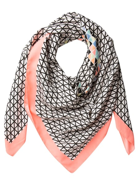 Schals für Frauen - PIECES Schal mischfarben schwarz weiß  - Onlineshop ABOUT YOU