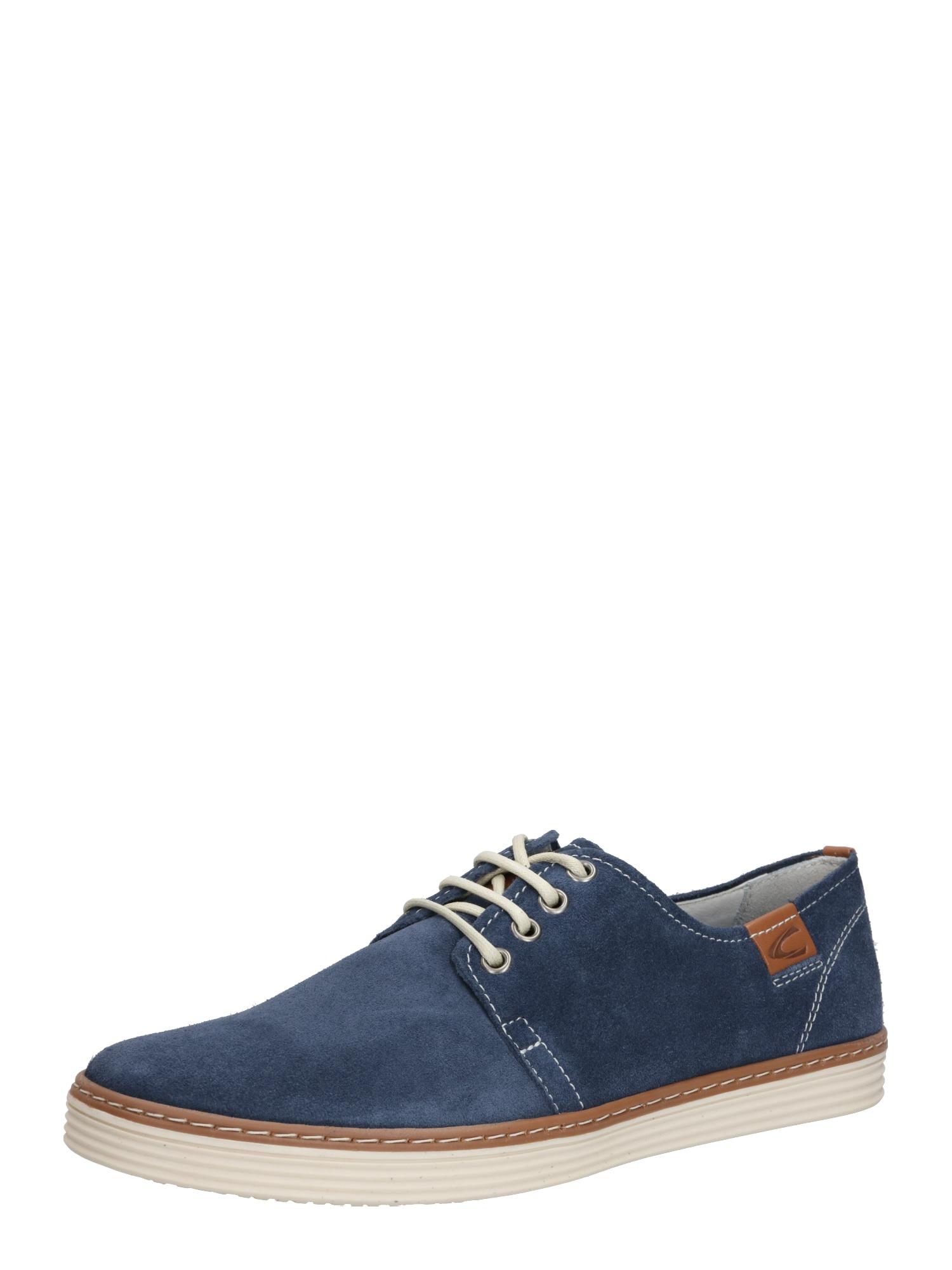 CAMEL ACTIVE Sportinio stiliaus batai su raišteliais 'Copa' tamsiai mėlyna