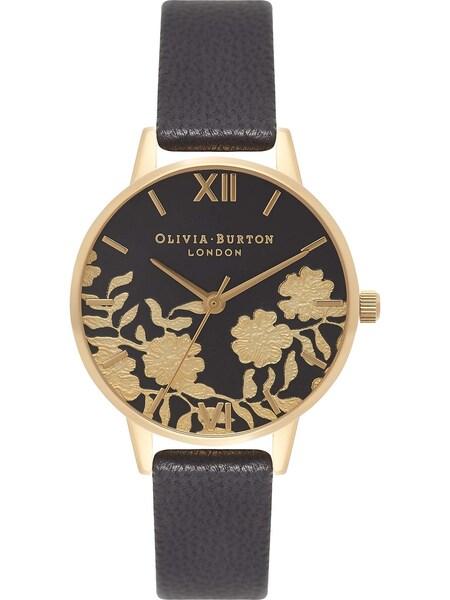 Uhren für Frauen - Olivia Burton Uhr gold schwarz  - Onlineshop ABOUT YOU