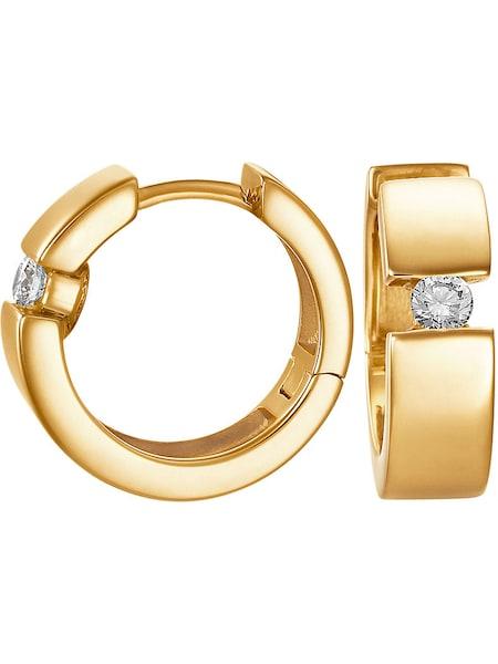Ohrringe für Frauen - CHRIST Creole '84905445' gold  - Onlineshop ABOUT YOU