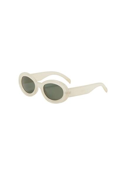 Sonnenbrillen für Frauen - MANGO Sonnenbrille 'Julieta' beige tanne  - Onlineshop ABOUT YOU