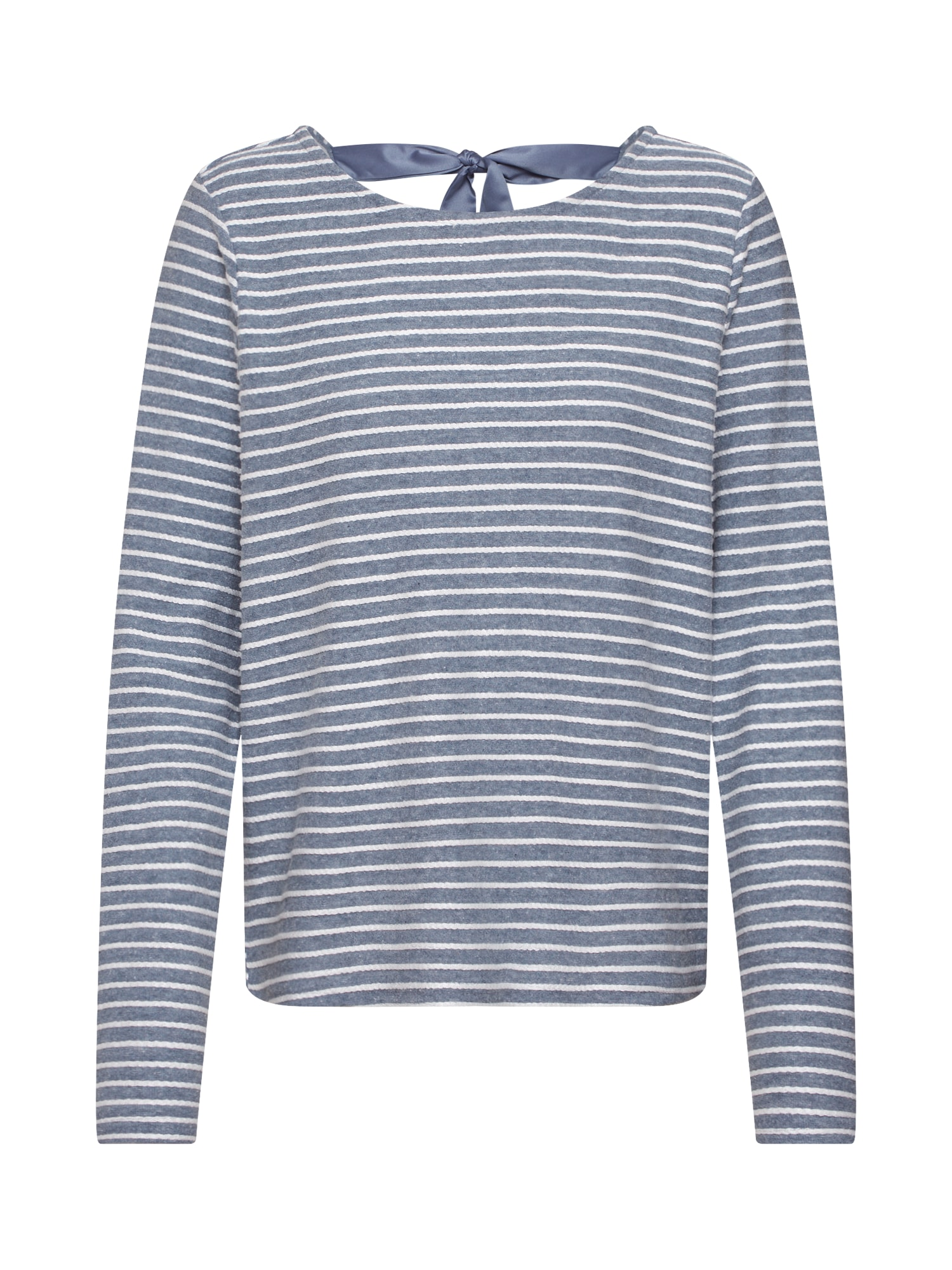 ONLY Megztinis mėlyna / balta