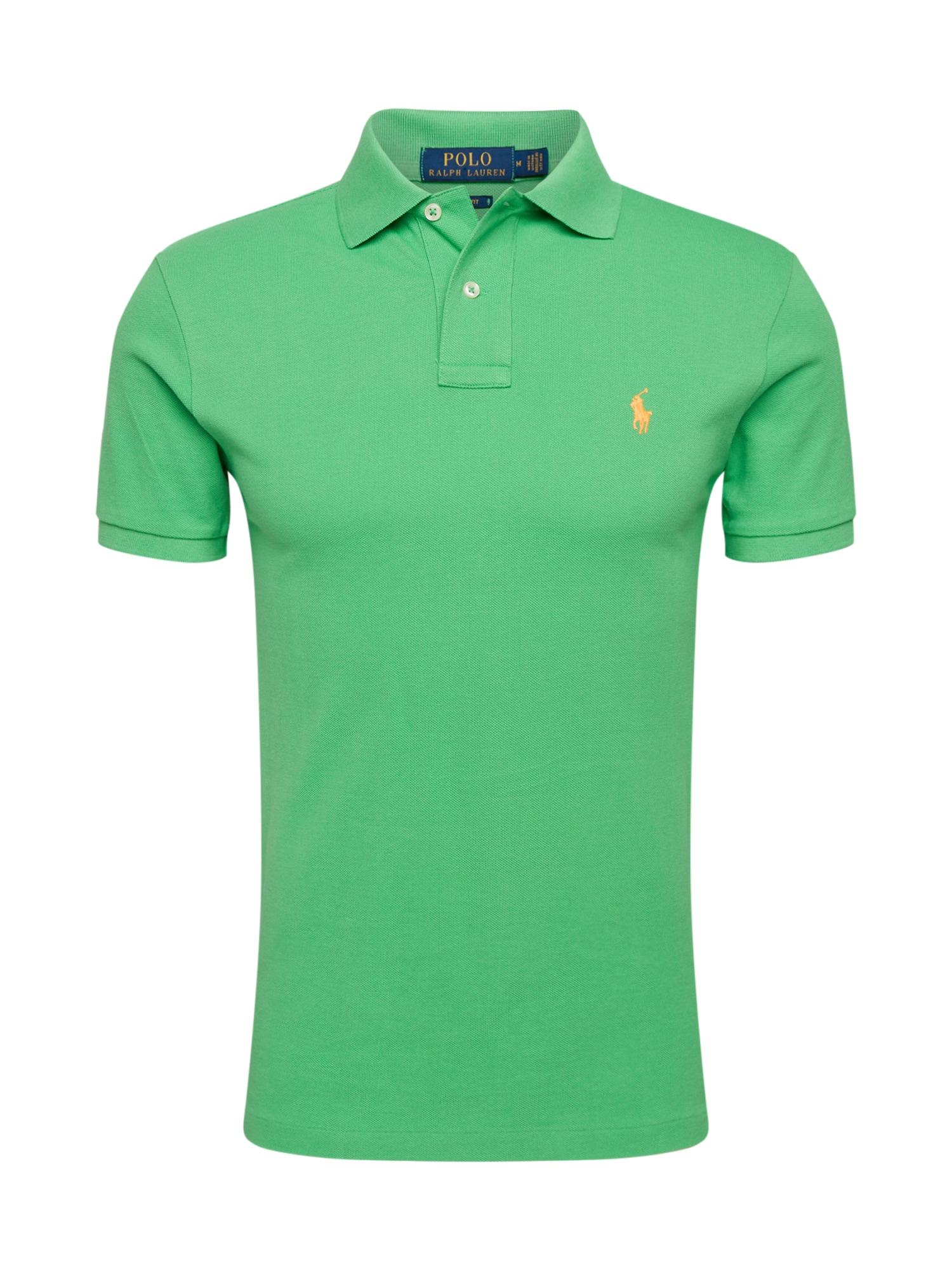 POLO RALPH LAUREN Marškinėliai žolės žalia