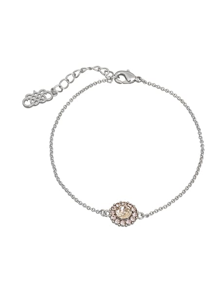 Armbaender für Frauen - LILY AND ROSE Armband 'Celeste' rosa silber  - Onlineshop ABOUT YOU