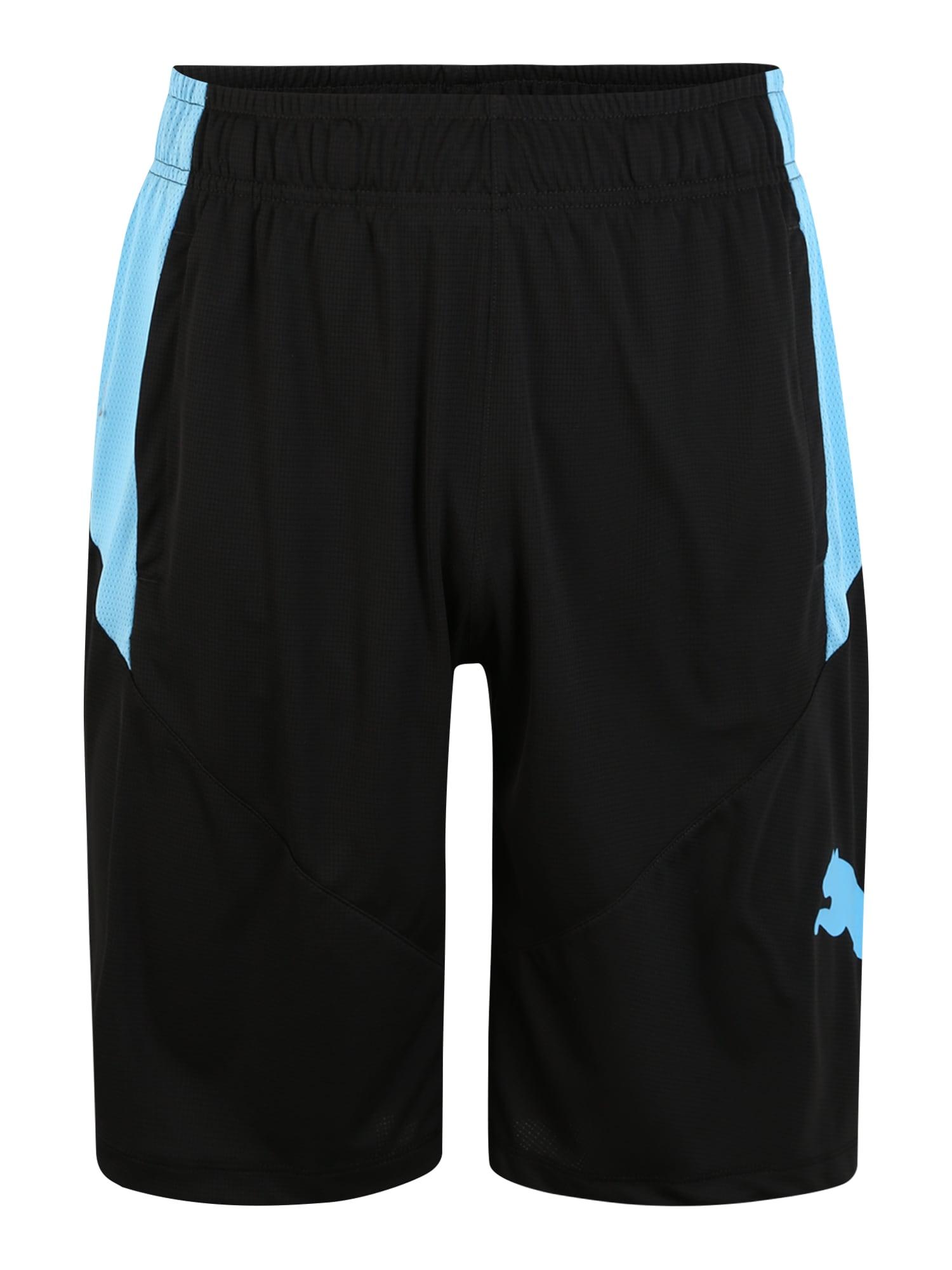 PUMA Sportinės kelnės 'Cat' mėlyna / juoda