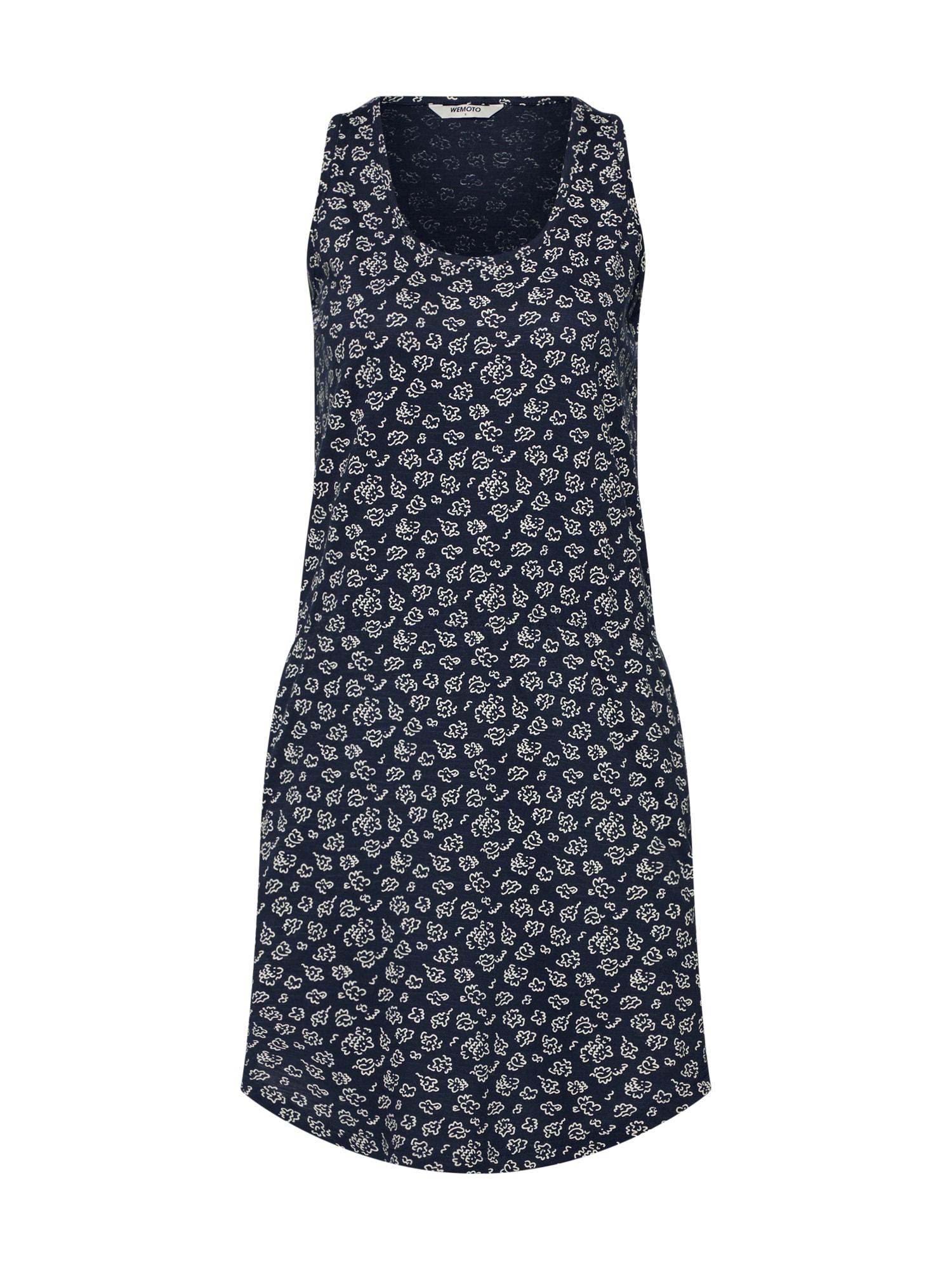 Šaty New Tavi Printed námořnická modř bílá Wemoto