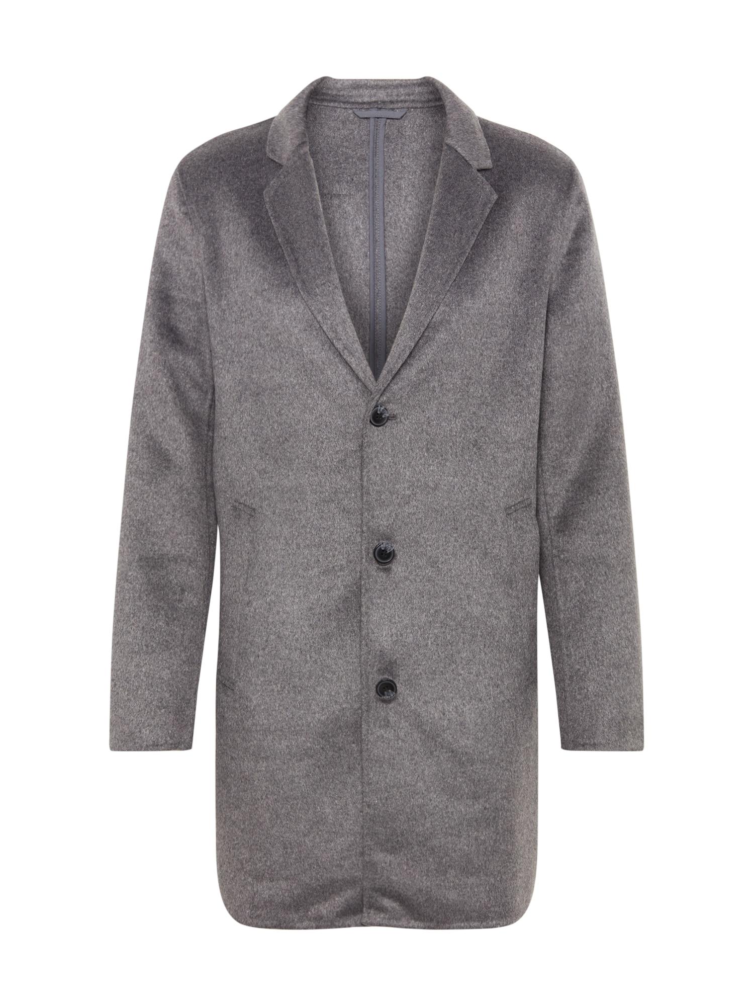JACK & JONES Rudeninis-žieminis paltas 'JPRFLOW' margai pilka