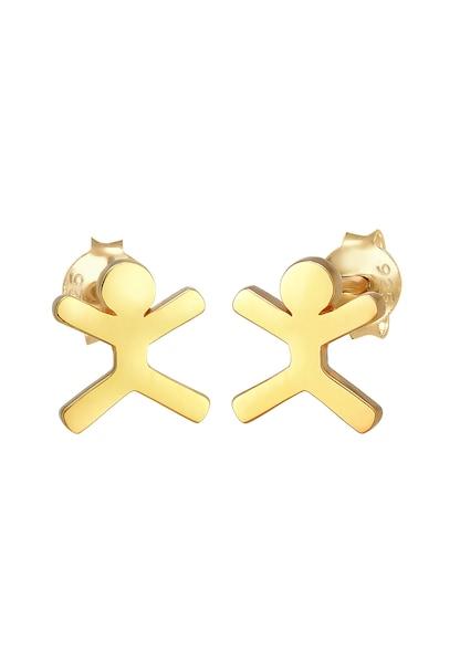 Ohrringe - Ohrringe Figur, Ohrstecker, Trend › ELLI › gold  - Onlineshop ABOUT YOU