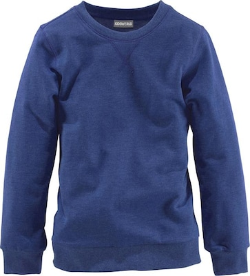 Kidsworld Sweatshirt in Melange-Optik, für Jungen