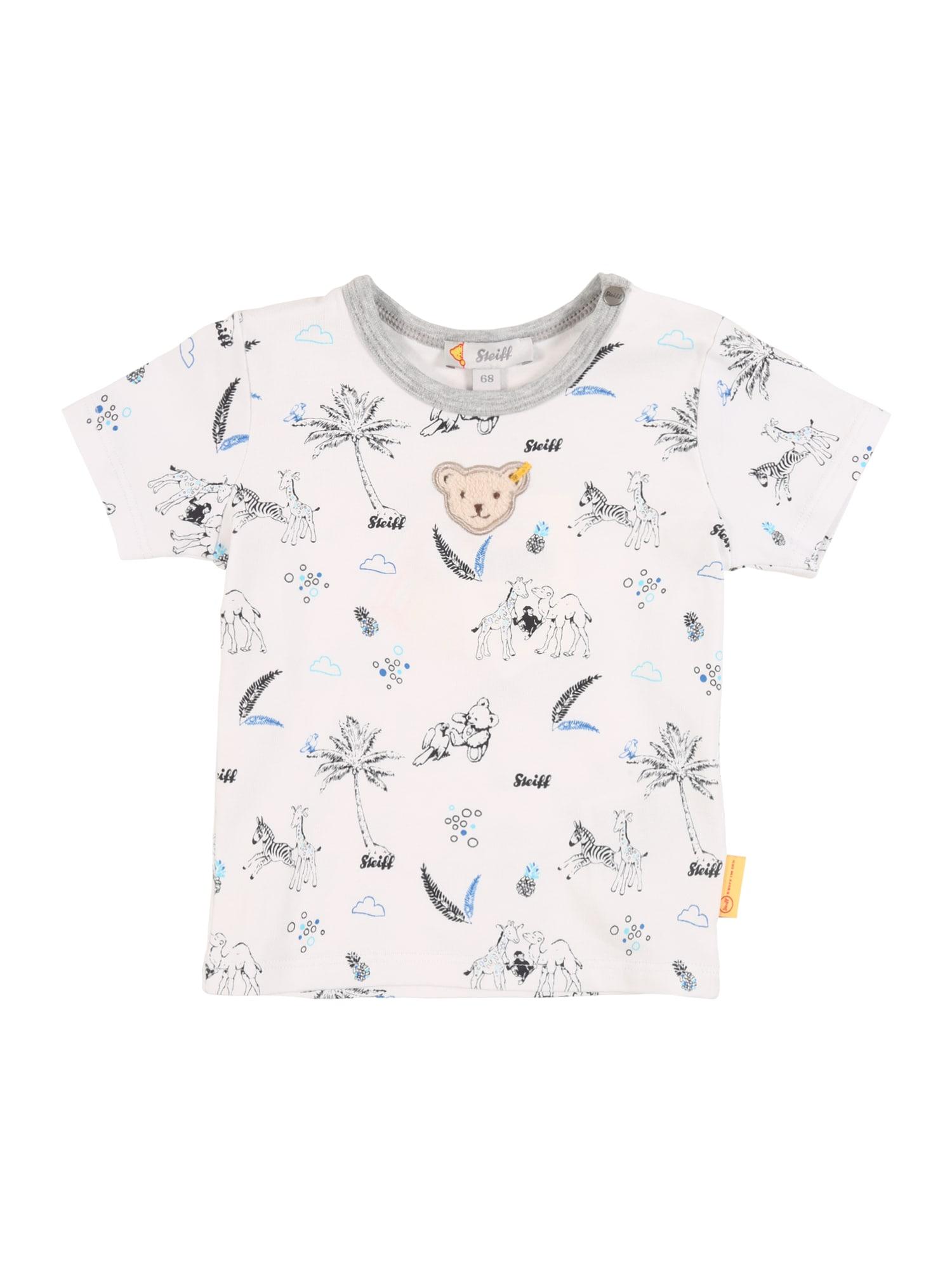 Steiff Collection Marškinėliai mišrios spalvos / balta