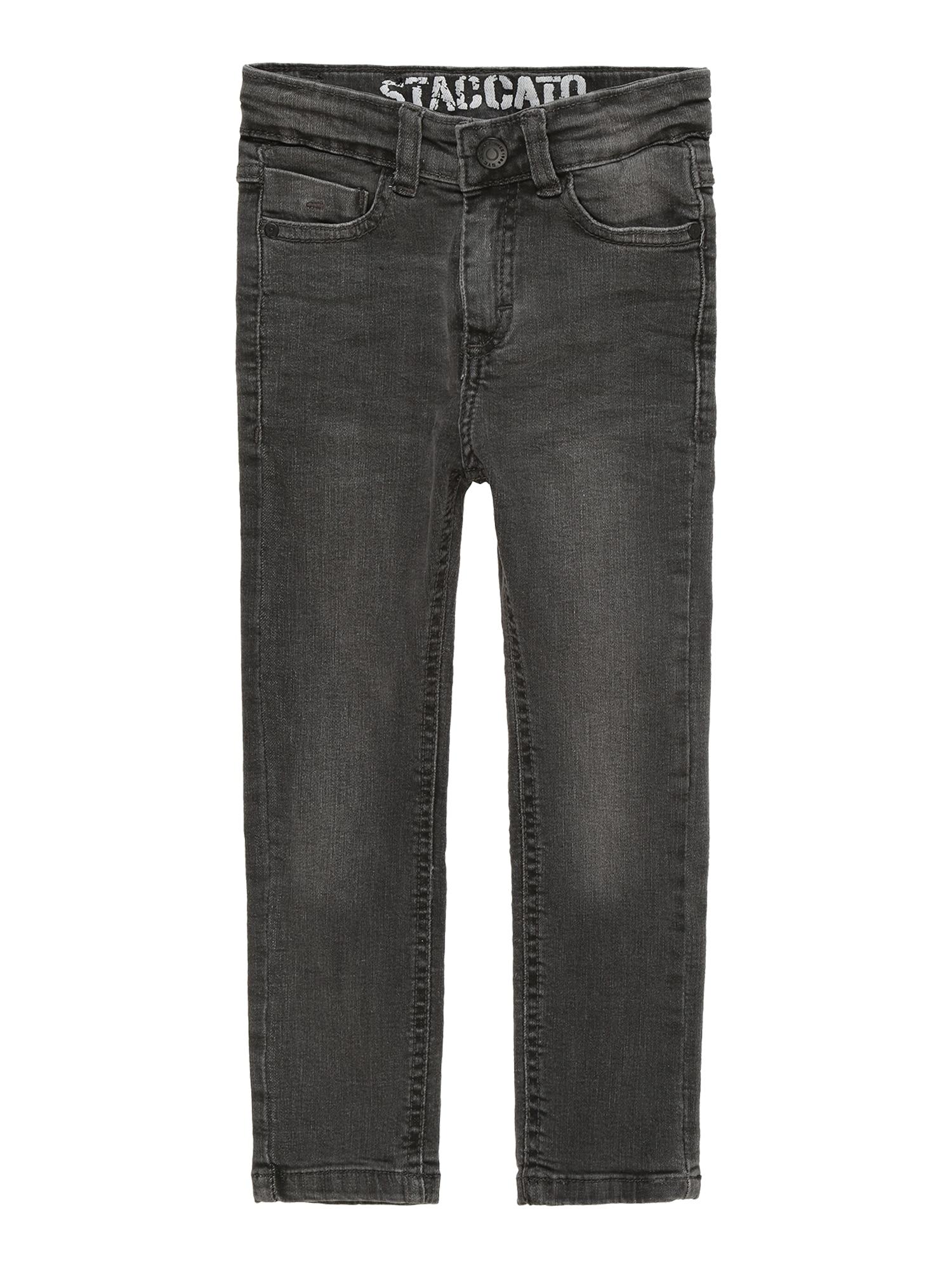 Džíny Kn.-Jeans Skinny šedá džínová STACCATO