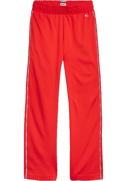 Hosen für Frauen - Tommy Jeans Jogger Pants rot weiß  - Onlineshop ABOUT YOU