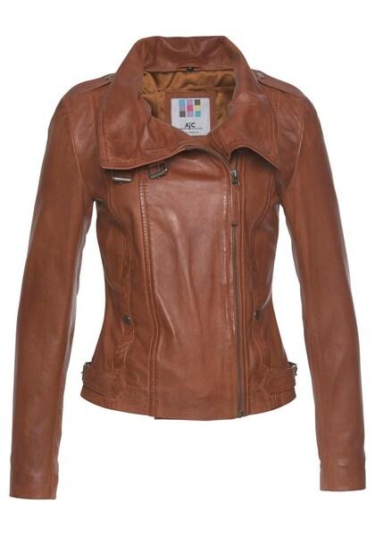 Jacken für Frauen - AJC Lederjacke braun  - Onlineshop ABOUT YOU