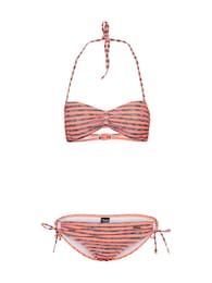 Protest Damen Bikini BARBERA 18 grau,pink | 08718025809417