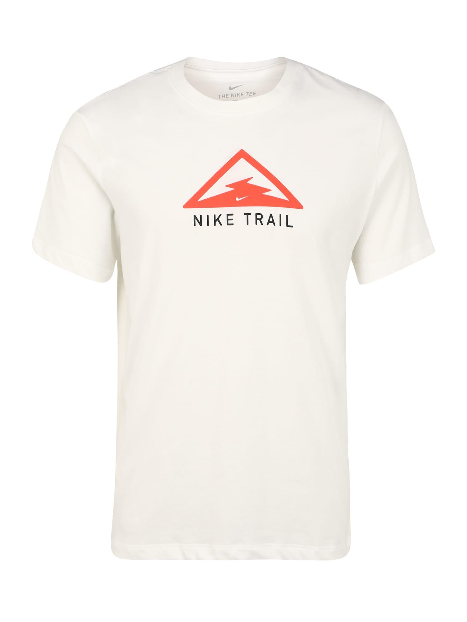 NIKE Funkcionális felső 'Trail'  világospiros / krém