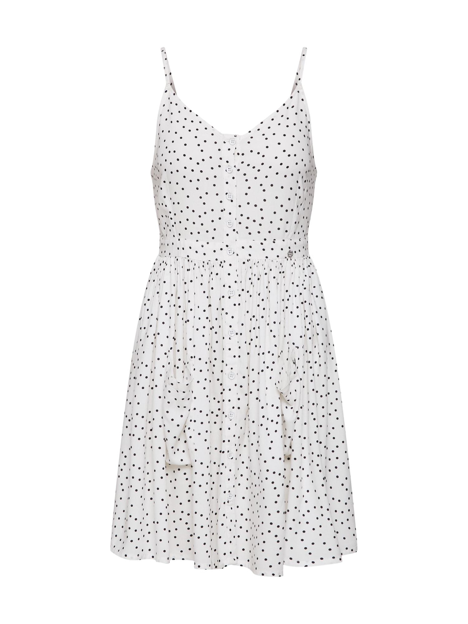 Letní šaty Amelie černá bílá Superdry