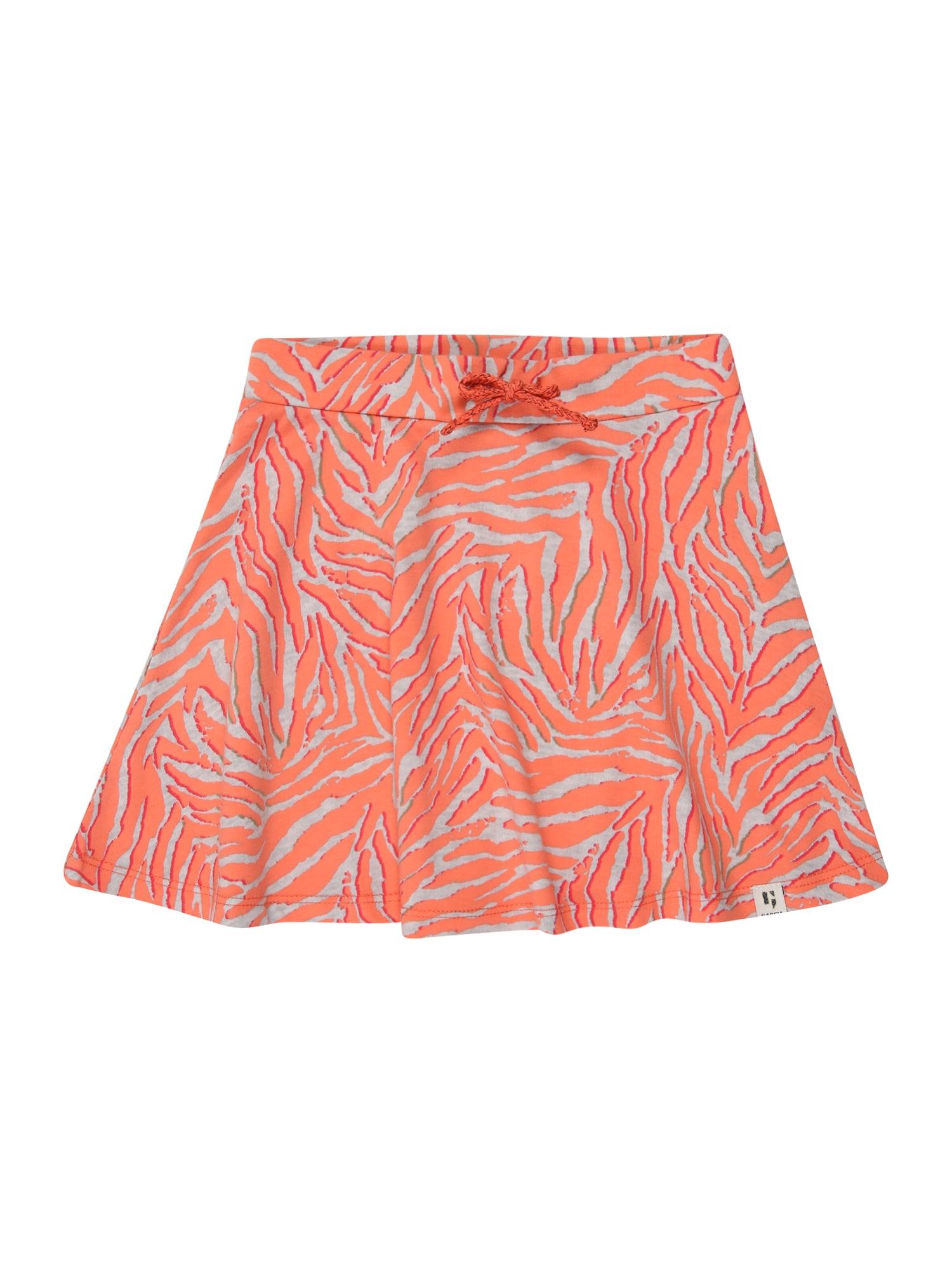 GARCIA Sijonas 'O04721_girls skirt' margai pilka / oranžinė