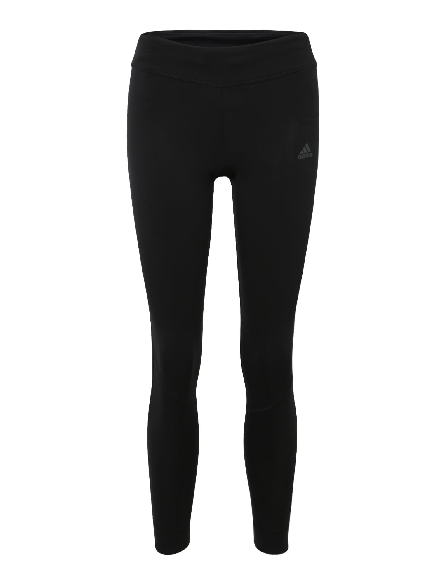 ADIDAS PERFORMANCE Sportinės kelnės 'Own the Run' juoda
